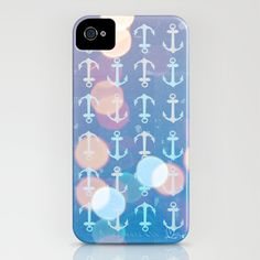 Anchors away guys!! Anchors of the Deep iPhone Case by Micah Fenn - $35.00