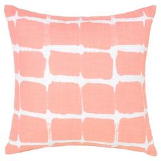 Bella Classic Abstract Rose Pink Pillow - 18x18 | Kathy Kuo Home