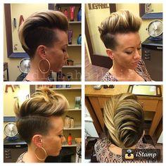 Vemos que Faux Hawks peinados son muy popular. Aquí 10 robustos Faux Hawks para la mujer dura!