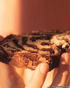 Chocolate Babka, Recipe from Martha Stewart Living, May 2000