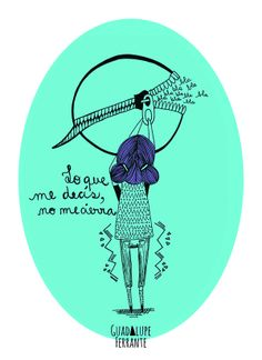 No me cierra Illustration by Guadalupe Ferrante, via Behance