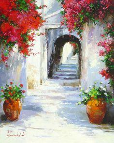 Greece in Blossom by Gleb Goloubetski