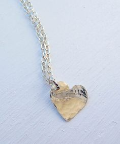 Handcrafted sterling silver textured tiny by hollybluejewelry, $48.00