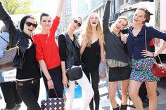 Les mannequins de la fashion week de New York