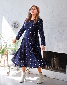 33b724dd464 Long Sleeve Dress (Plus Size) 09 2018  123