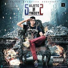 salute the street 2 mixtape cover by simarvfx #Creative #Art #Design @touchtalent.com
