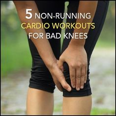 Running is brutal if you have bad knees. Try these five other cardio workouts instead for weight loss and to get your heart pumping!