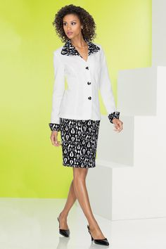 Graphic Print Skirtsuit: Unique & Bold Women's Clothing from #metrostyle $69.99 $24.99