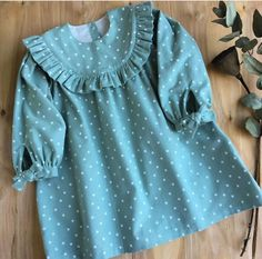 Baby Girl Frocks, Frocks For Girls, Little Girl Dresses, Kids Dress Wear, Kids Frocks Design, Sewing Baby Clothes, Baby Dress Design, Stylish Dress Designs, Cute Outfits For Kids