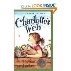 Could never read this book without crying and who couldn't fall in love with Charlotte and Wilbur?