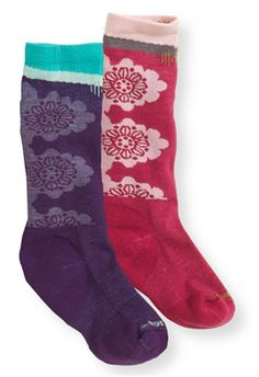 Kids SmartWool Socks, Two-Pack: Socks | Free Shipping at L.L.Bean