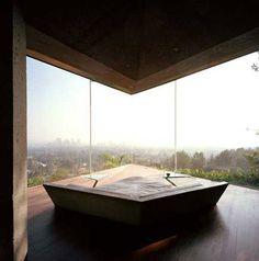 Hollywood Hills Glass House by John Lautner