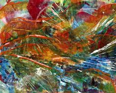 abstract painting $20.00