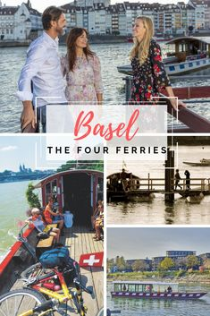 Take a trip across the Rhine in style and comfort on one of the four ferries that connect Kleinbasel with Grossbasel. Autumn Fair, The Four, Basel, Summer Time, Connect, Spring, Style, Daylight Savings Time, Summer