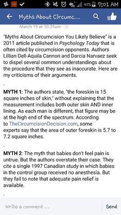 Myths About Circumcision 1