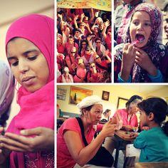 Rose, Rose, Roses des Sables ! Un évènement solidaire qui soutient nos actions. Association Enfants du désert