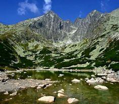 Lomnický štít a Skalnaté pleso - Slovensko (72 pieces) Beautiful Scenery, Homeland, Mount Everest, Mountains, Nature, Travel, Places, Naturaleza, Viajes