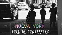 TOUR DE CONTRASTES DE NUEVA YORK Times Square, New York, Movies, Movie Posters, Fictional Characters, World, Twist Outs, Black Caps, Brooklyn Bridge