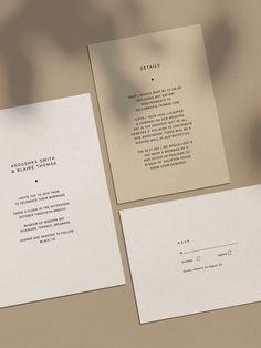 ALCHEMY / Celestia—a statement in simplicity for the modern couple Simple Wedding Invitations, Wedding Invitation Wording, Wedding Stationary, Wedding Favors, Invites, Event Invitations, Invitation Templates, Wedding Ideas, Wedding Card Design