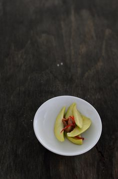Sweet Pickled Green Mangoes