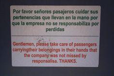 Online translator use.
