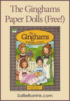 The Ginghams Paper Dolls (Free!) The Ginghams Paper Dolls (Free!) for those cold fall and winter days spent inside! The post The Ginghams Paper Dolls (Free!) appeared first on Paper Ideas. Paper Doll House, Paper Dolls Book, Vintage Paper Dolls, Paper Toys, Paper Crafts, Paper Houses, Foam Crafts, Paper Art, Antique Dolls