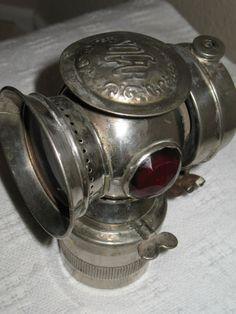 Antique bike lamp