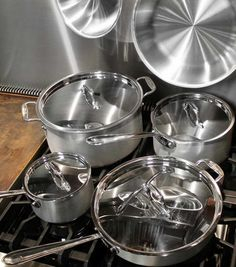 All Clad Cookware - 3-ply MasterChef