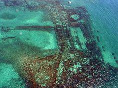 Portus Julius,Baia la città sommersa