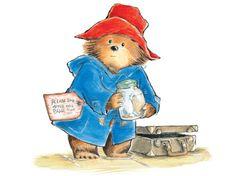 Paddington Bear illustration