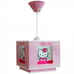 suspension de plafond hello kitty luminaire pour chambre de petite fille idal - Lustre Hello Kitty Chambre