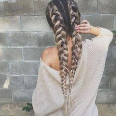 22 Braids To Start Your Spring Hair Fling #Beauty #Musely #Tip