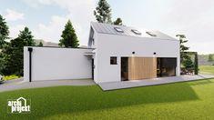 Projekt rodinného domu s názvom Castello, je dvojpodlažný dom s celkovou úžitkovou plochou 144,80 m². Dom ponúka na prízemí dostatok priestoru pre obývaciu izbu a kuchyňu s jedálenskou časťou, izbu, samostatné odvetrané WC a kúpeľňu, sklad potravín, garáž a skladovaciu miestnosť. Chodby sú navrhnuté s ohľadom pre úložný priestor typu roldor. Z obývacej izby je schodiskom sprístupnené poschodie, ktoré ponúka okrem malej kúpeľne spálňu a veľkú izbu s panoramatickým oknom a prístupom na terasu. Shed, Outdoor Structures, Barns, Sheds