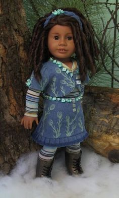 """MHD Designs - 2012 Winter Collection - """"Ever After"""" for 18 Inch American Girl Dolls"""