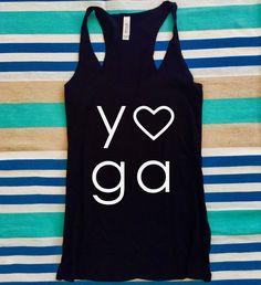 A personal favorite from my Etsy shop https://www.etsy.com/listing/527282656/yoga-heart-yoga-tank-yoga-shirt-gym