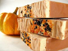 Pumpkin Cake Soap (Vegan)