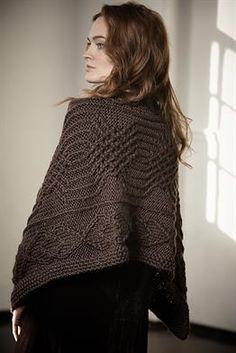 Ravelry: Chilli Wrap pattern by Marie Wallin Celtic, Big Wool, Rowan Yarn, Addi Knitting Needles, Creative Knitting, Wrap Pattern, Knit Wrap, Fall Accessories, Knitted Shawls