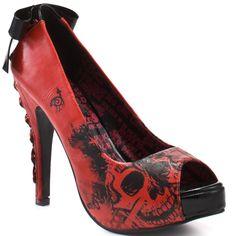 peep toe... check, bow... check, skulls... check  :)