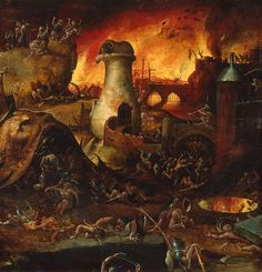 hell | Hell - Drawings, Prints and Painting from Hermitage Museum