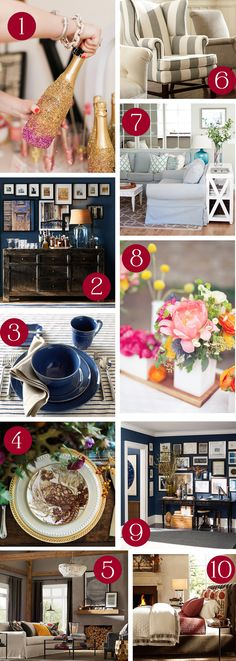 Top New Year's Posts from Pottery Barn
