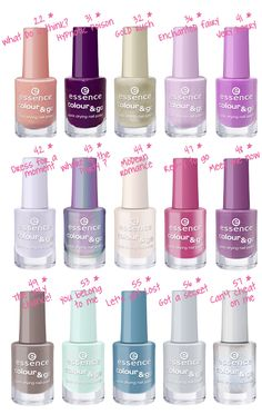 Essence nail polishes...$1.49 each  Awesome stock up ladies!!!
