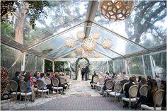 Coral Globes, Tent lighting - The Allan House - Photo by Melissa Glynn | by IntelligentLightingDesign