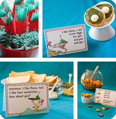 Dr Seuss Themed Snacks