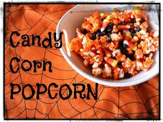 Candy Corn Popcorn from @Gina Harney!