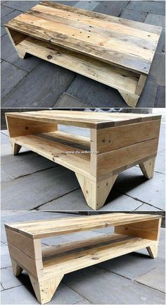 Beautiful Wood Pallet Furniture Plans For Your Weekend Project - Moveis rusticos - Pallet Projects