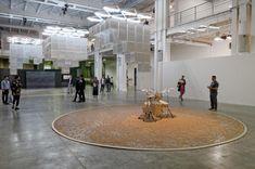 <02.> Artistes - Céleste Boursier-Mougenot biennale d'art contemporain de lyon 2015