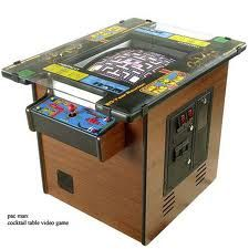 Table arcade machines...I remember one in our local Pizza Hut, I believe.