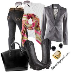 """""""look of the week"""" by farmerstrophywife on Polyvore"""