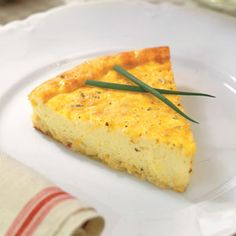 Three-Cheese Quiche and its only 5 grams of carbs!