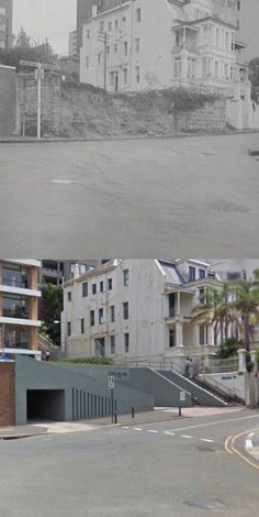 """""""Lincoln"""" Billyard Avenue, Elizabeth Bay in 1969 and 2009. [1969: Trove - City of Sydney Image library - 2009: Google Street View/by Phil Harvey]"""